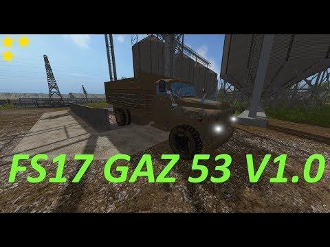 FS17 Gaz 53 v1.0