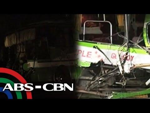 Bus - Paalala po sa mga may biyahe ngayong Undas, mag-ingat lalo na ang mga drayber. Dalawa ang patay habang 47 na pasahero ang sugatan sa salpukan ng bus at truck sa Lipa, Batangas. Subscribe ...