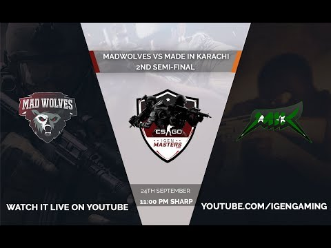 [ENG] MadWolves VS MIK | 2nd Semi Final | IGen Masters 2018 | Online Invitational