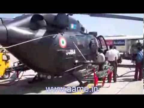 Rudra, weaponised version of India's Advanced Light Helicopter [ALH], Dhruv