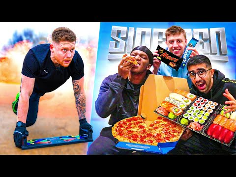 SIDEMEN 100,000 CALORIE BATTLE - THE REMATCH!