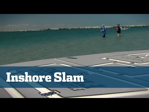 Inshore Slam At The Indian River With Trout, Redfish, Snook And More