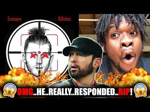 Eminem - Killshot (Machine Gun Kelly Diss) REACTION!