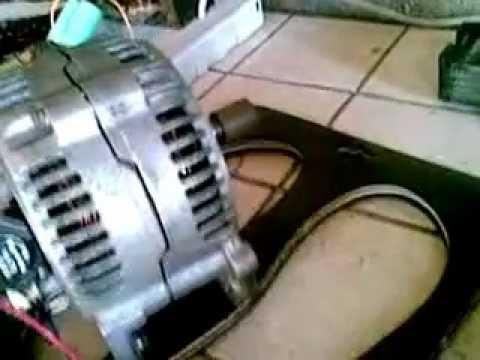 comment modifier un alternateur de voiture pour eolienne
