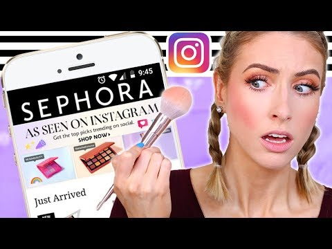 TESTING VIRAL INSTAGRAM MAKEUP That SEPHORA PICKED... What's Overhyped?
