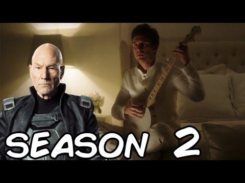 Legion Season 2 Release Date | Will Patrick Stewart play Professor X on Legion?