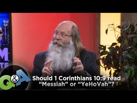 1 corinthians 10 - http://ARoodAwakening.tv/faqs/ Michael Rood answers the question,
