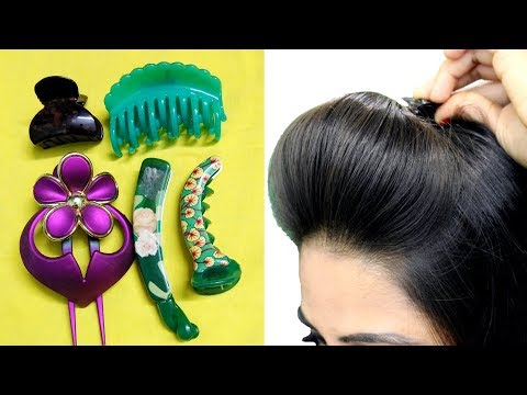 How To Use Hair ClutcherTo Make Quick & Easy Hairstyles/Hair Puff, ponytail & bun
