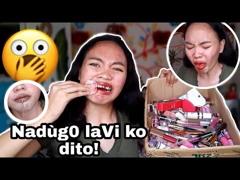 Trying out BOX of LIPSTICK and LIPTINT! G0ne Wr0ng!| MagPAPAAGAW ng LIPTINT?!