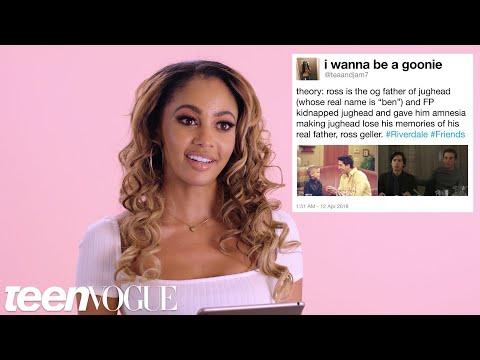 Riverdale's Vanessa Morgan Reacts to Riverdale Fan Theories | Teen Vogue