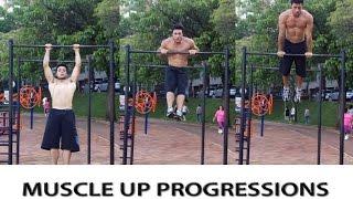 Progressions Muscle Up - BH Bars (Tutorial) Se gostaram do vídeo, por favor curtam, comentem e compartilhem com os amigos. Traremos novos vídeos sempre que p...