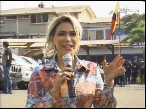 Prefectura entregó camionetas para el control de seguridad en Durán