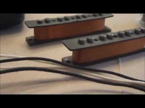 making jazz bass pickups.wmv