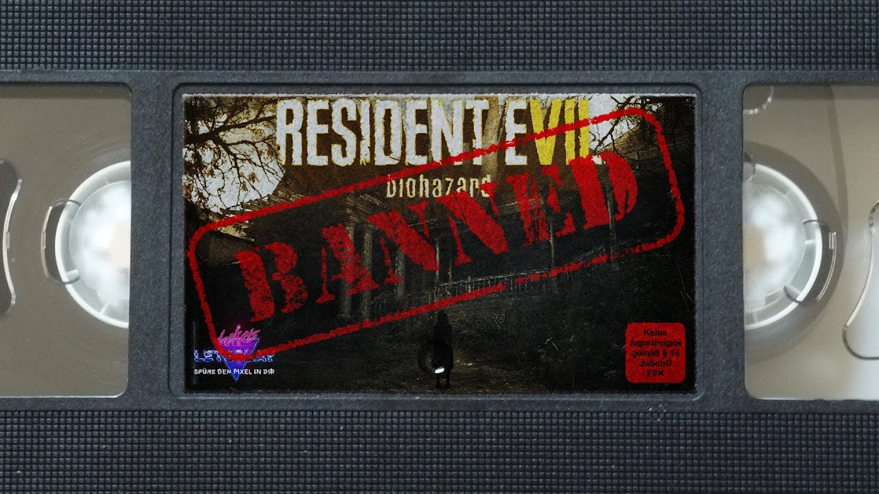 VERBOTENES MATERIAL - ALBTRAUM | Let's Play Resident Evil 7 DLC Banned Footage