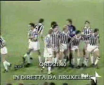 HEYSEL TRAGEDY BY ITALIAN TV! 39 JUVENTUS FANS KILLED!!