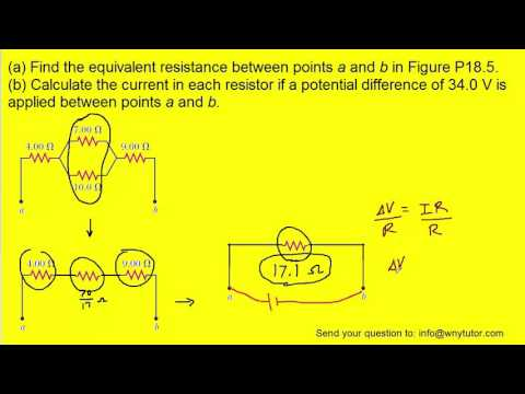 Find the equivalent resistance between points a and b