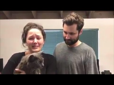 Couple Cries as They're Reunited With Lost Cat Following California Mudslide