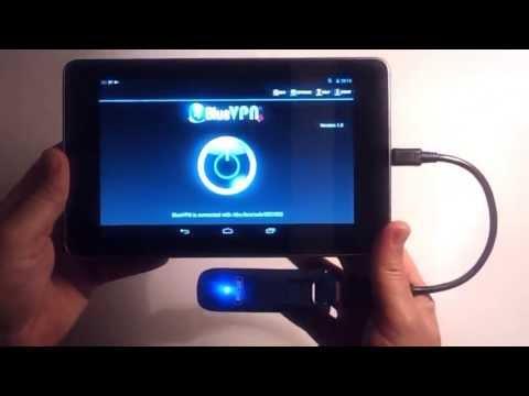 Video of BlueVPN+