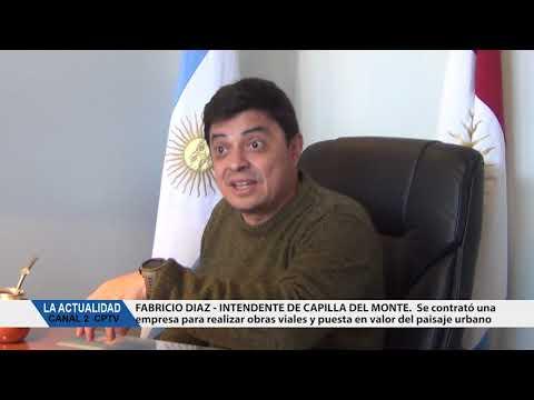 NOTA AL INTENDENTE DE CAPILLA: EL INTENDENTE DIAZ CONTRATO UNA EMPRESA PARA HACER OBRAS EN CAPILLA