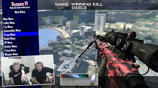 Teaching the Red Reserve Leader How to Fake Trickshots #2! (Modern Warfare 2 Aimbot Trickshotting!)
