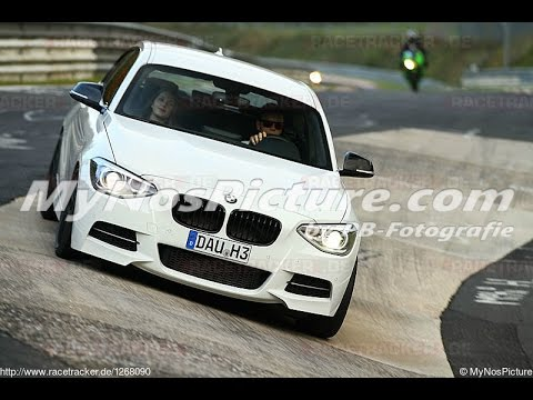 Nürburgring Nordschleife VLN layout / BMW M135i / Drift - Crash - Fun / 18.10.2015 (видео)
