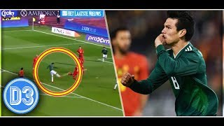 Video TWO GREAT GOALS BY HIRVING LOZANO vs BELGIUM ★ D3D2 MP3, 3GP, MP4, WEBM, AVI, FLV November 2017