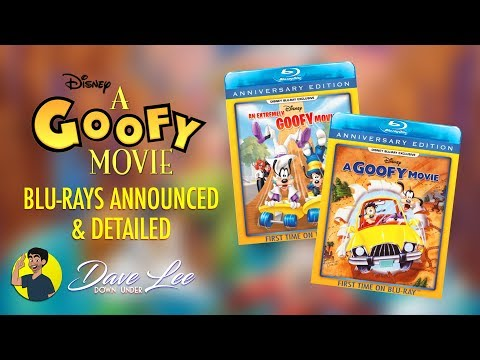 A GOOFY MOVIE / AN EXTREMELY GOOFY MOVIE Blu-ray Announced And Detailed