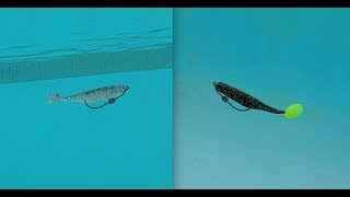 Slayer SST vs.  DOA CAL Shad [Tutorial and Review]