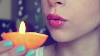 DIY: Make candles out of ORANGES! - YouTube