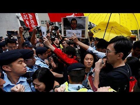 Χονγκ Κονγκ: Ένταση κατά την επίσκεψη ανώτατου Κινέζου αξιωματούχου