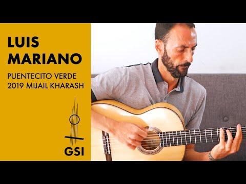 """Luis Mariano plays """"Puentecito Verde"""" (Bulerias) - GSI in Granada"""
