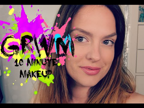 GRWM No Makeup Makeup Tutorial in 10 minutes