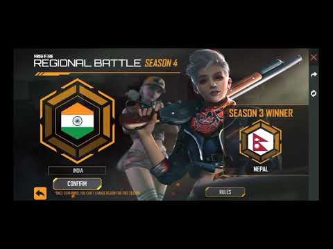 How to complete regional battle event in free fire in Tamil/regional battle season 4 full details