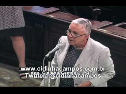 Revolta da dep. Cidinha Campos (RJ) com
