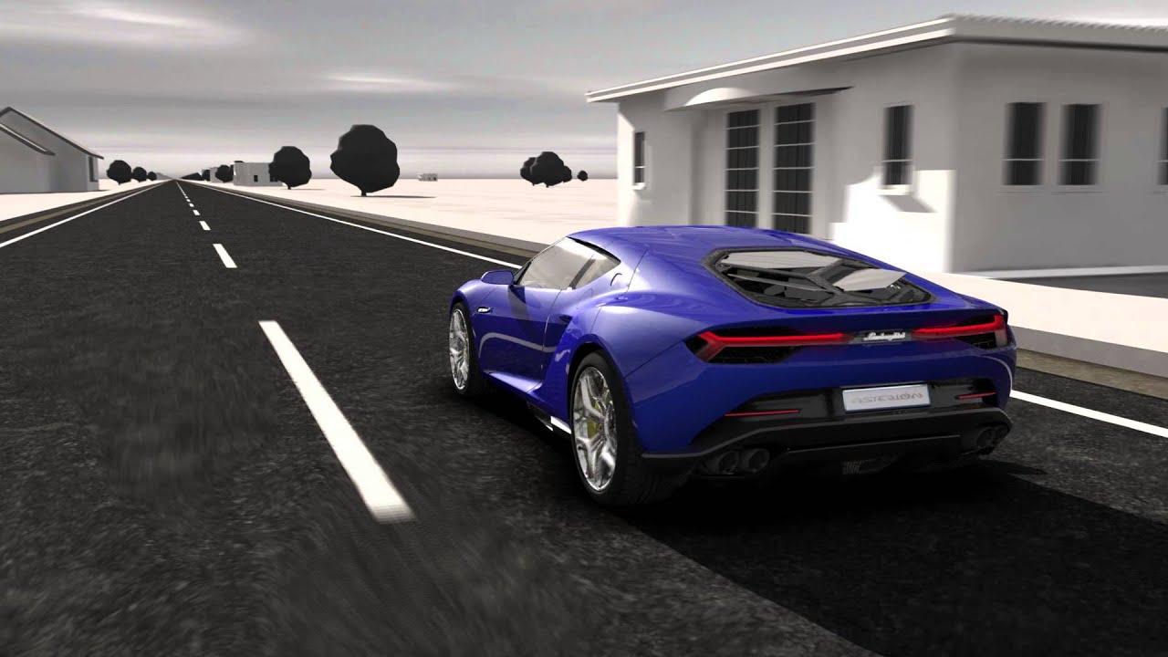 2014 Lamborghini Asterion LPI-910-4 Concept