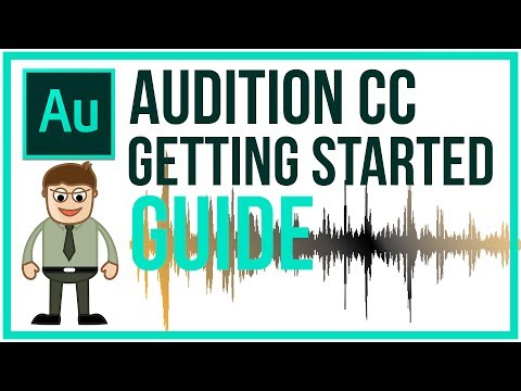 Adobe Audition CC Full Tutorial - Getting Started Guide (видео)