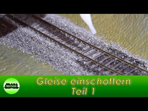 Gleise Einschottern! (видео)