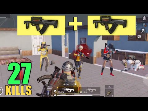 AFTER WATCHING THIS YOU'LL USE DOUBLE GROZA | 27 KILLS SOLO VS SQUAD | PUBG MOBILE