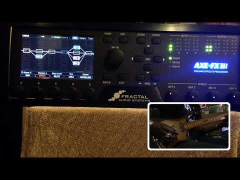 Axe FX III ambient delays (видео)
