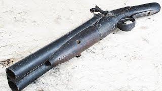 Wrecked SAWED-OFF Shotgun - Restoration -  Red Dead Redemption Style