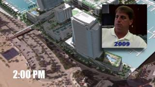 UPDATE June 17, 2016: The developer has withdrawn this plan!!! Shadow video shows impact of 29-story high rise towers and 6-story parking garages on A1A ...