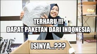 Video BONGKAR PAKETAN DARI INDONESIA | TERNYATA ISINYA ... ??? MP3, 3GP, MP4, WEBM, AVI, FLV Desember 2018