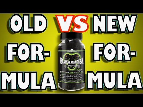 BLACK MAMBA FAT BURNER OLD VS NEW (2018)