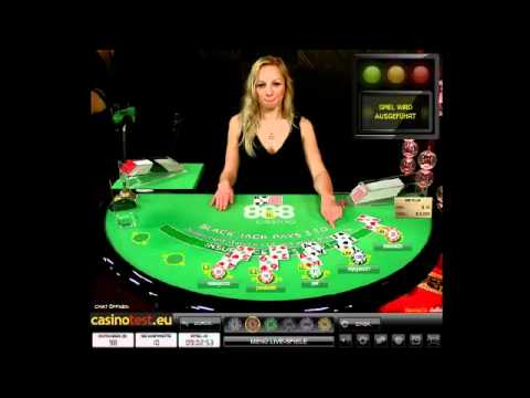 Live Dealer Blackjack 888 Plus Video