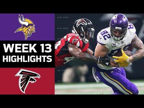 Video: Vikings vs. Falcons | NFL Week 13 Game Highlights