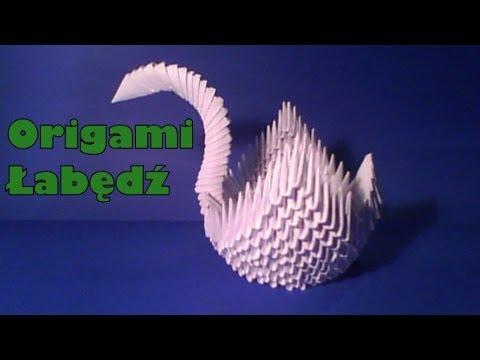 Origami - Łabędź