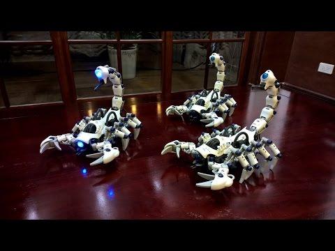 TOMY ZOIDS E24-01 DEATHPION 白蠍 デスピオン *3 (видео)