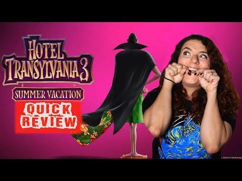 Hotel Transylvania 3 - Quick Movie Review (2018)