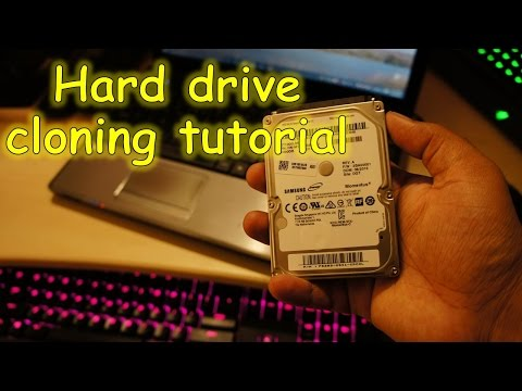 Clone/Copy EVERYTHING including Windows from old hard drive to a new one step by step (Easy way)