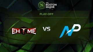 EHOME vs Team NP, Game 3, 1/8 - The Boston Major